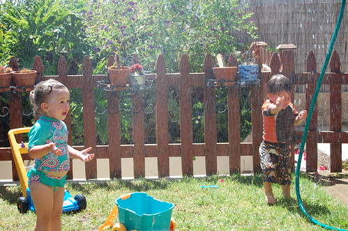 sprinkler party!