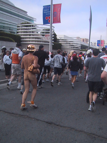 Bare Bum at Bay to Breakers