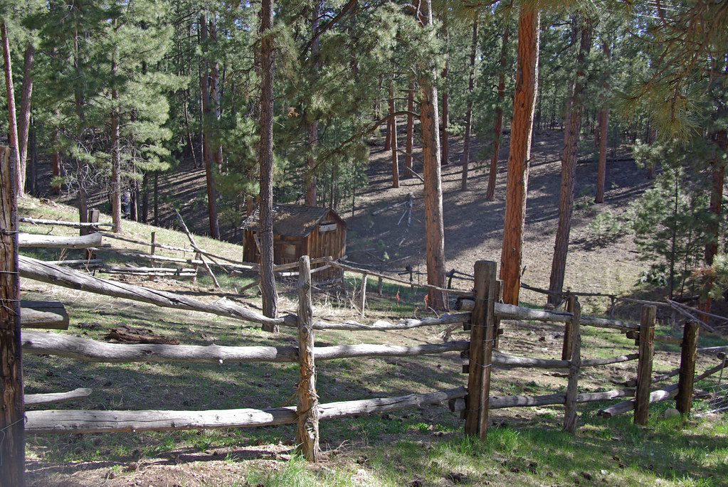 Jacob Lake Arizona stock corral