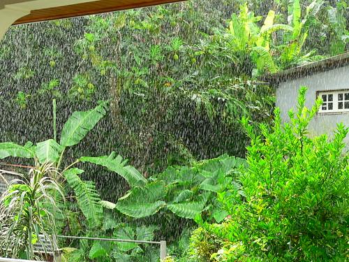 Il pleut souvent en août
