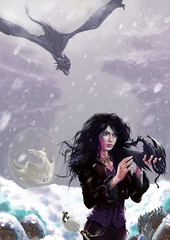 charmeuse-de-dragons (Patrice Bole) Tags: art digital dragon bole