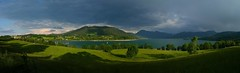 Tegernseer Tal (Claude@Munich) Tags: autostitch panorama lake mountains alps germany bayern bavaria oberbayern upperbavaria alpen tegernsee bayerische gmund hirschberg miesbach wallberg prealps voralpen claudemunich mangfallgebirge tegernseertal neureut