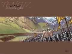 Tengiz de Tarek & Morinire (Tarek-comics) Tags: book bd livre tarek auteur perger dition tengiz pompetti sirarthurbenton morinire