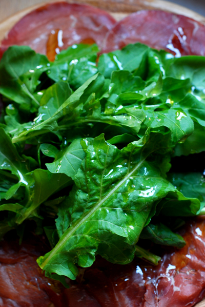 Bresaola with Rucola