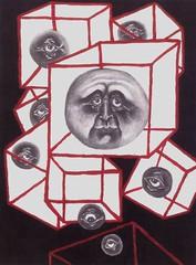 Off Balance (Art-Visionary) Tags: abstract color paint folkart outsiderart drawing outsider surrealism surreal surrealist artbrut narrative visionary symbolism hrgiger ottodix symbolist visionaryart germanexpressionism alfredkubin germanexpressionist emilnolde damianmichaels edmondmonsiel creationfranche adolfwolfli