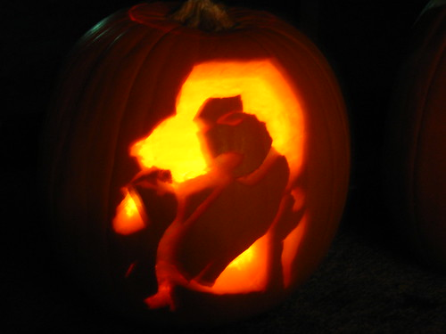 Bettie Page Pumpkin