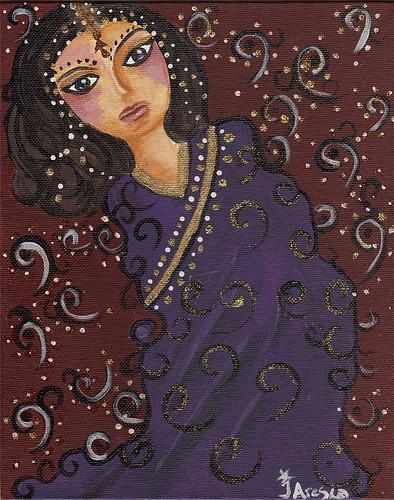 Sari again