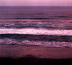 ocean abstract color beach sunrise surf pacificocean... (Photo: Zeb Andrews on Flickr)