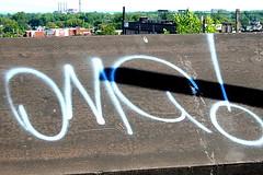 OMG! (~ClevelandAngel) Tags: graffiti cleveland urbanart omg clevelandangel exiter ~clevelandangel clevelandgraffiti ~216angel 216angel