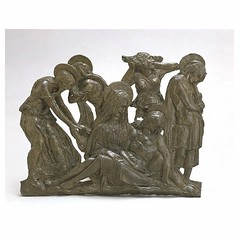 Lamentation over the dead Christ, by Donatello. Museum no. 8552-1863