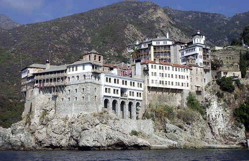 Greek monastery in Agio Oros