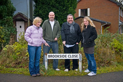 Moyles visits Brookside (The Chris Moyles Show - Radio 1) Tags: radio1 chrismoyles racheljones dominicbyrne brooksideclose carriedavis