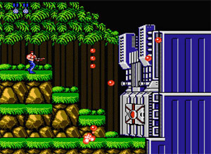 Contra NES Screenshot