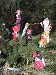 More clothespin people ornaments