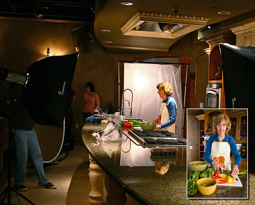 Behind the Scenes - Kitchen Shoot