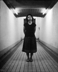 Ilha : Subway (Zulluey) Tags: blackandwhite mamiya film xp2 duotone 6x7 ilfordxp2 ilford sekor