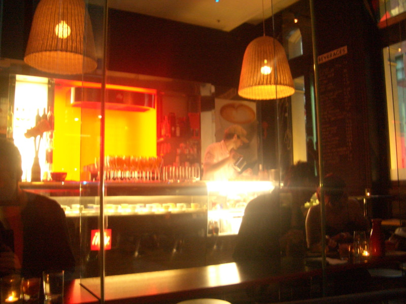 Cafe Vue interior