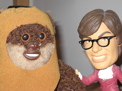 Wicket the Ewok and Austin Powers... Separated at Birth?