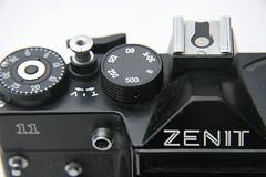 Zenit 11 closeup (ludwig van standard lamp) Tags: slr film soviet creativecommons zenit zenit11