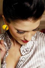 Coleccin Complementarios (kmiu) Tags: costarica amarillo musica notas pendientes accesorios aretes clave noeliaaguero