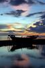 070423.08 (hypocritic) Tags: sunset reflection beach clouds d50 boat philippines lagoon gradient 1855mmf3556g tawitawi bongao sanga lansa