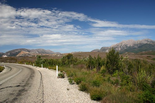 Near Queenstown, Western Tasmania.