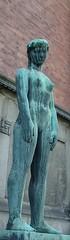 . (osto) Tags: woman statue copenhagen nude geotagged denmark europa europe sony cybershot zealand scandinavia danmark kbenhavn dscf828 sjlland  osto januar2008 osto