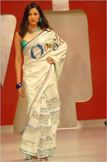 Google India saree