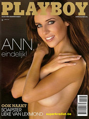 Cover playboy Ann Van Elsen