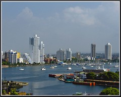Your pick...Marina at Cartagena de Indias ( Popotito ) Tags: ocean marina landscape colombia cityscape atlantic explore sailboats yates yatch atlantico waterscape veleros cartagenadeindias platinumphoto popotito