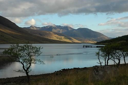 Ben Cruachan across Loch Etive
