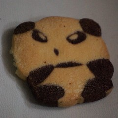 cartoon butter cookie
