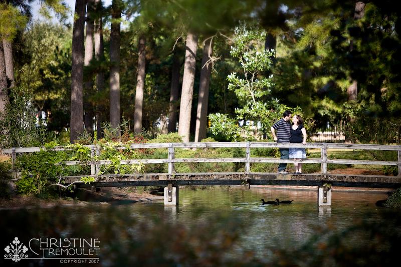 Andi U0026 Jason On The Bridge In The Japanese Garden At Hermann Park