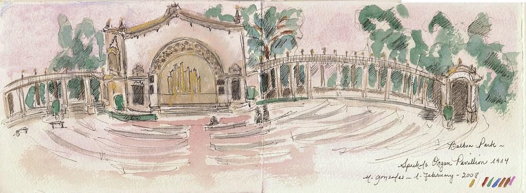 Organ Pavilion: Balboa Park