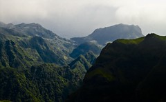 Giving you perspective (zoe J) Tags: mist mountains portugal misty clouds island do view atmosphere peak pico heights madeira areeiro grupo1