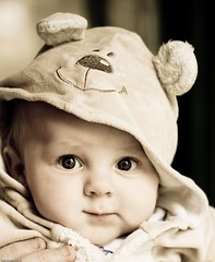 Levi wants to be your teddy bear (Vanessa Pike-Russell) Tags: portrait baby cute face children 50mm costume kid infant child teddy pentax f14 australian adorable australia teddybear nsw levi smc myfaves illawarra pentaxk10d mostinterestingportraits