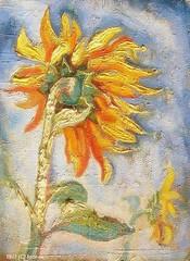 SUNFLOWERS (igor-nz) Tags: flowers stilllife art nature painting traditional study cardboard sunflowers oil 1977 oilpainting igornz nazarenko paintingairbrushing