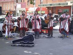 Inka Marka (ashroc) Tags: music band melbourne victoria busking ponchos inkamarka southamericanmusic ashroc