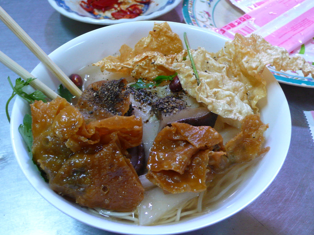 Vietnamese Won Ton Soup by Augapfel, on Flickr