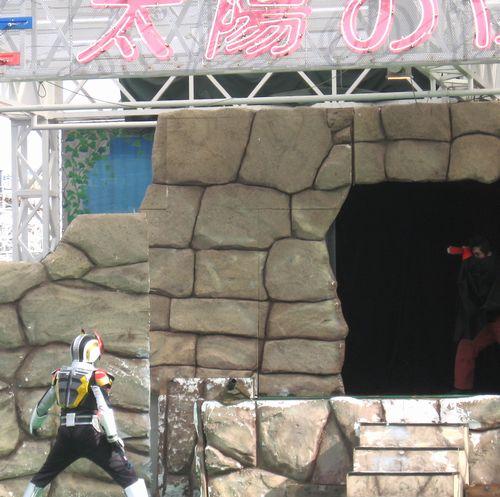 よみうりランド仮面ライダー電王ショー 2008 Feb 17