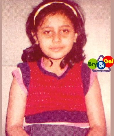 Rani Mukerjis Childhood Photo
