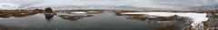 Forgotten Trail - Winter (Snow) (Mike Carretta) Tags: snow landscape panoramic trail marsh hightide