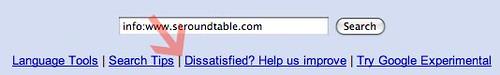 Google Dissatisfied