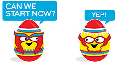 Moo Easter Eggs