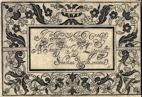 Bertozzi + Zanilla 1604 Lace Typography h