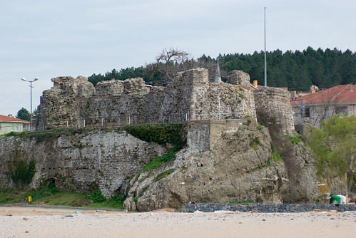 Riva castle, Riva village, Blacksea region, Istanbul, Pentax K10d