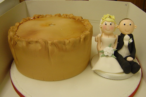 Noodle Live Cake of the Month: Wedding Cake that looks like a Pork Pie