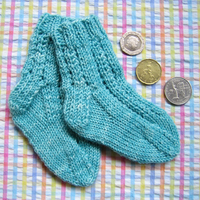 Lacy Baby Socks