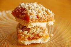 Apricot Crumb Bars.