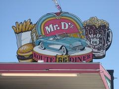 Mr. D'z Kingman, Arizona (eks4003) Tags: arizona food dinner route66 burger fast chevy fries mug junkfood pickles corvette ontheroad rootbeer kingman rte66 kingmanaz